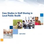 Case studies in staff sharing in local public health